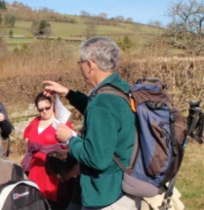 Give leaders easy to read information (Crickhowell Walking Festival)