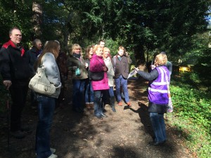 Guided history walk in Durham Cathedral Woodlands
