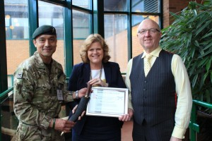 Gurkha's thank National Park Authority for help with Nepal Earthquake appeal