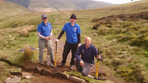 Jason and some of the Black Mountain Volunteers