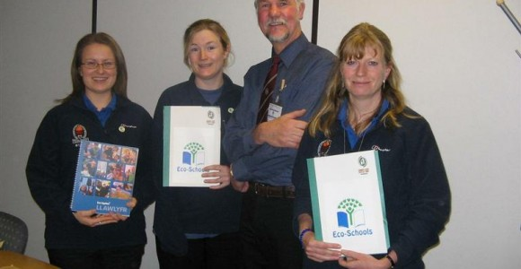 Education Officers being awarded Eco-School Assessor Status